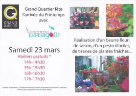 Atelier cuisine enfant Expérigoût à Rennes