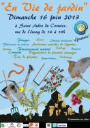 Affiche pour la journée du jardin au naturel