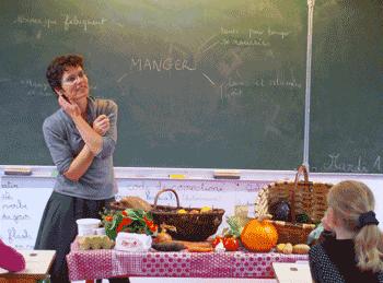 MC Boucher, animatrice sensoriel en alimentation à l'école