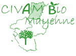 Logo CIVAM BIO 53, client Expérigoût