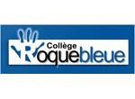 Logo Collège Roquebleue, client Expérigoût