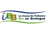 Logo IBB, Réseau de l'initiative bio en Bretagne, client Expérigoût