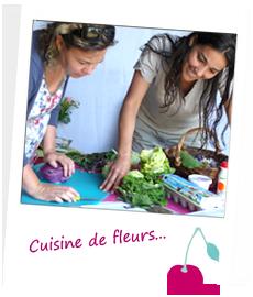 Cuisiner les fleurs en Bretagne et Normandie