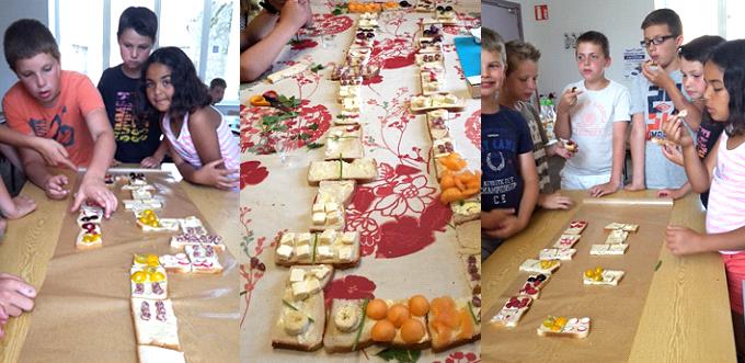 TAP Atelier cuisine sensorielle avec des enfants