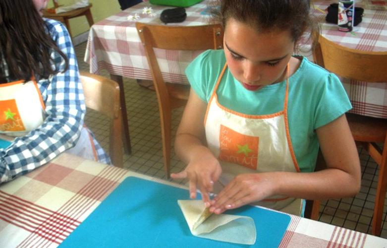 Goûter cuisine de fleurs à Bierné
