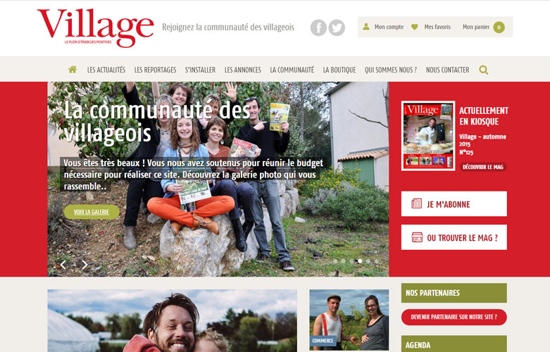 Magazine village