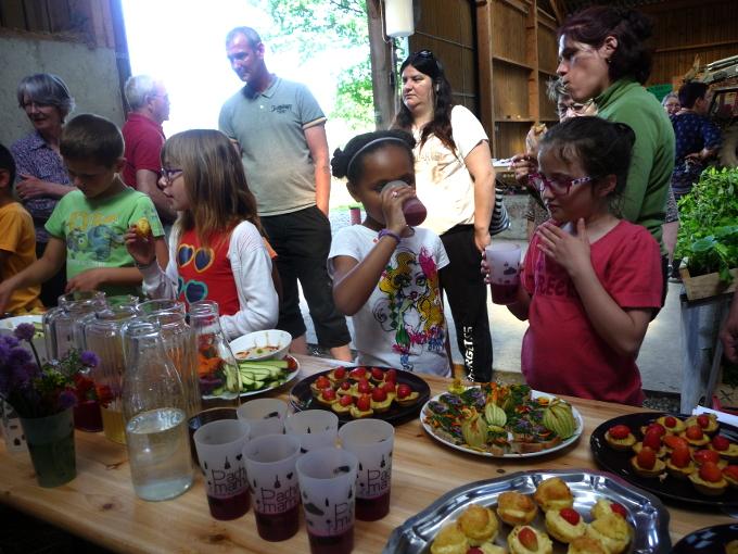 Atelier sensoriel en famille