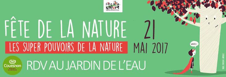 Bandeau Fete de la nature 2017 à Saint-Germain-en-Cogles